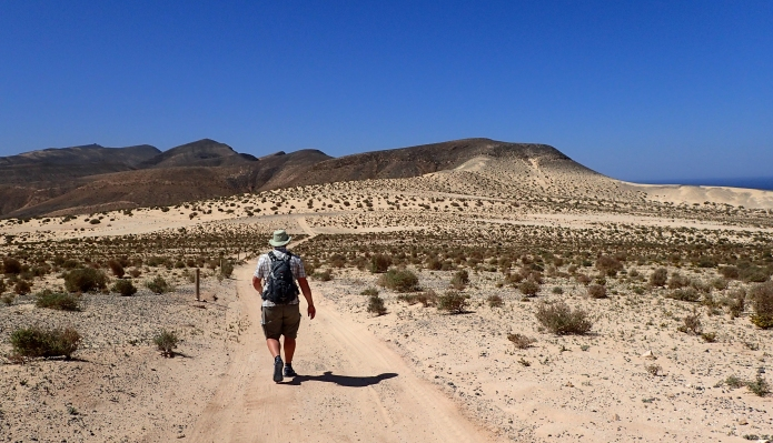 Leaving waste in a drier environment results in a product that will remain for many years. Paper needs to be packed out and disposed of later. Fuertenventura