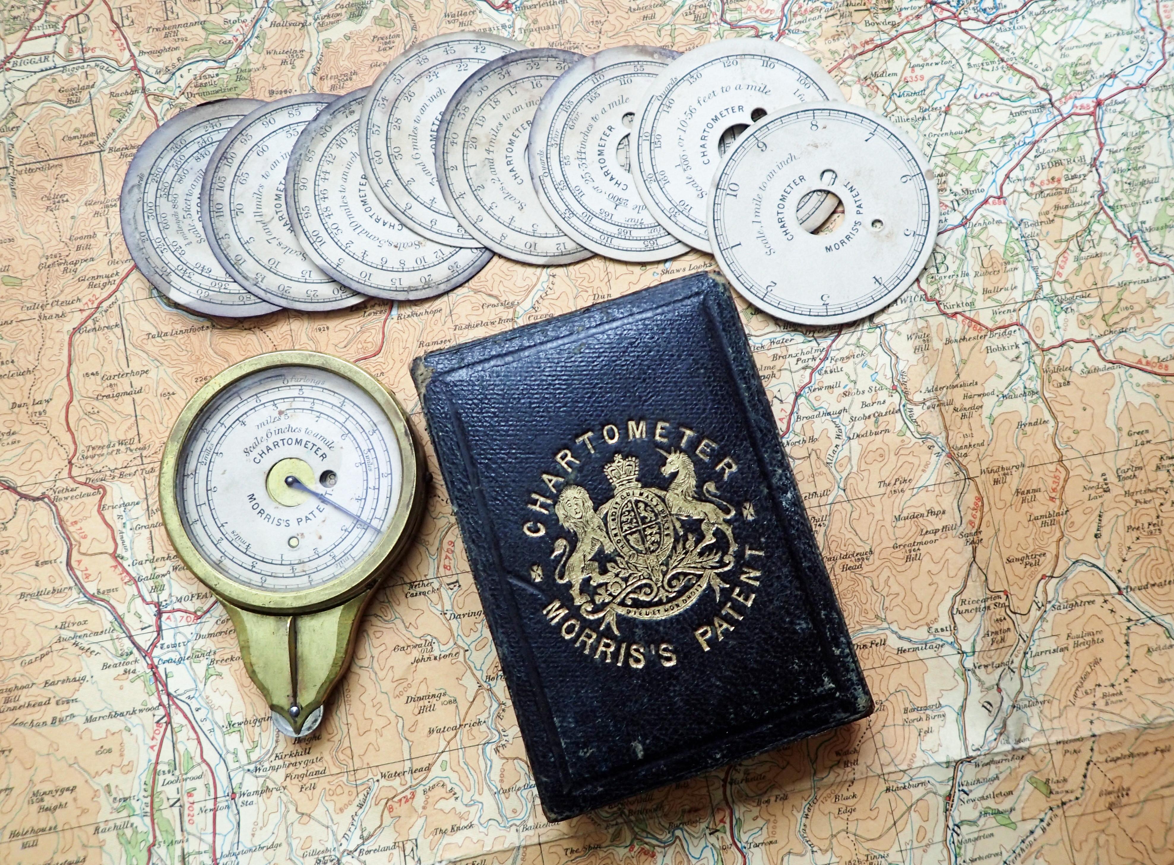 Morris's Patent Chartometer