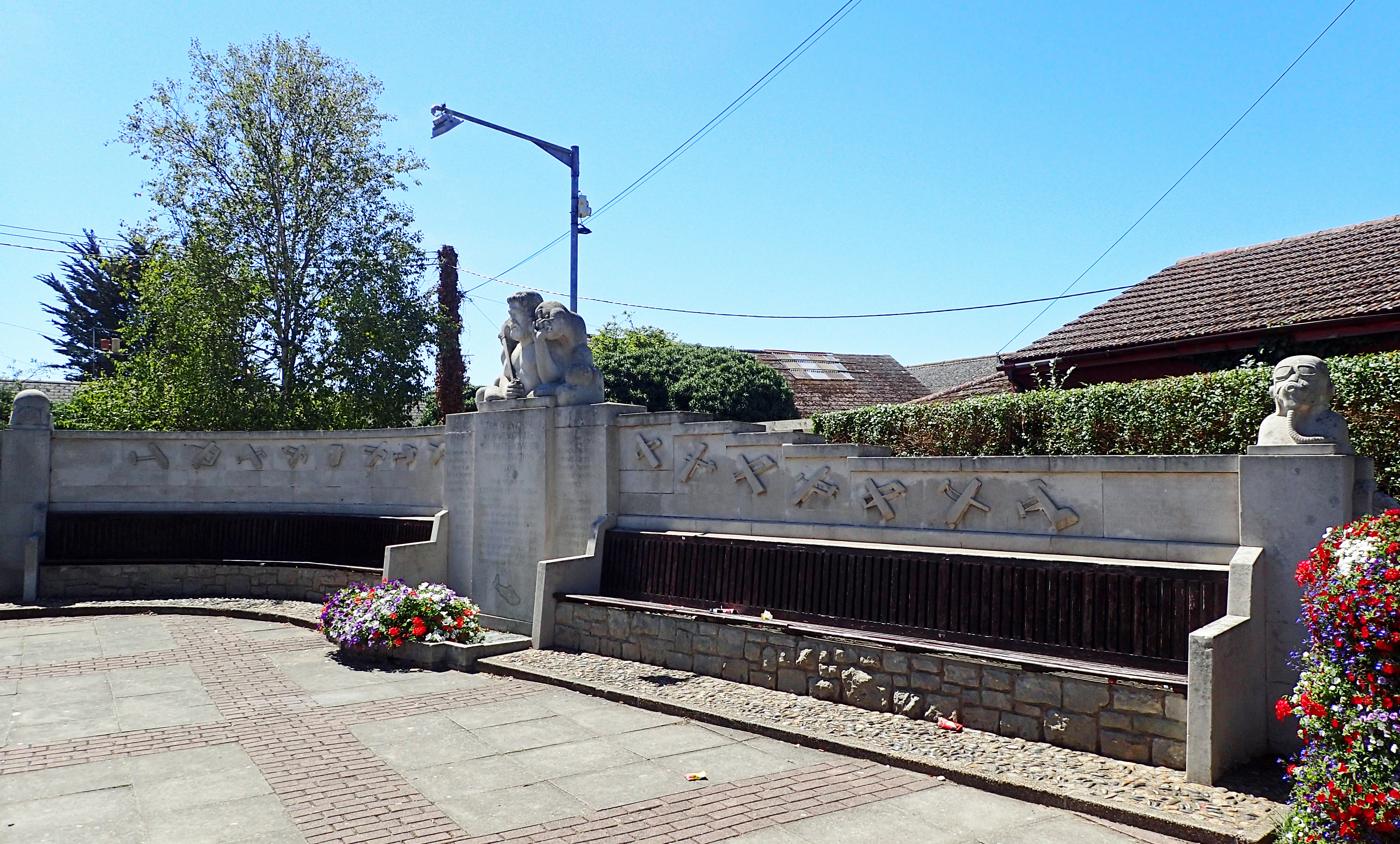 The small village of Eastchurch now has a Memorial to the Home of Aviation