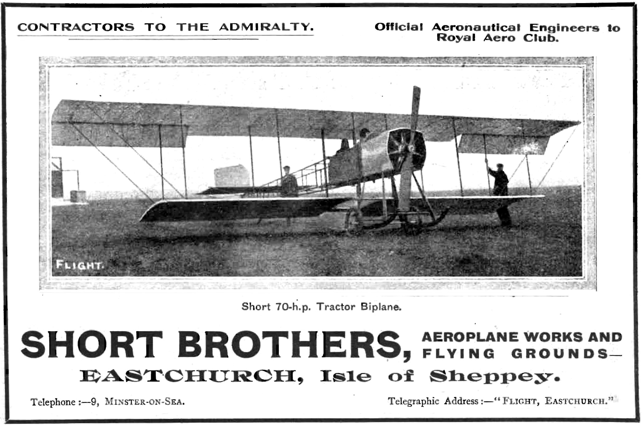 From 'Flight' 17th February 1912