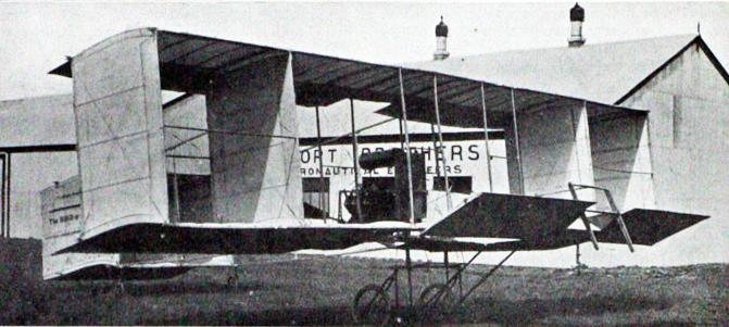 Bird of Paradise, at Shorts Shellbeach factory, 1909