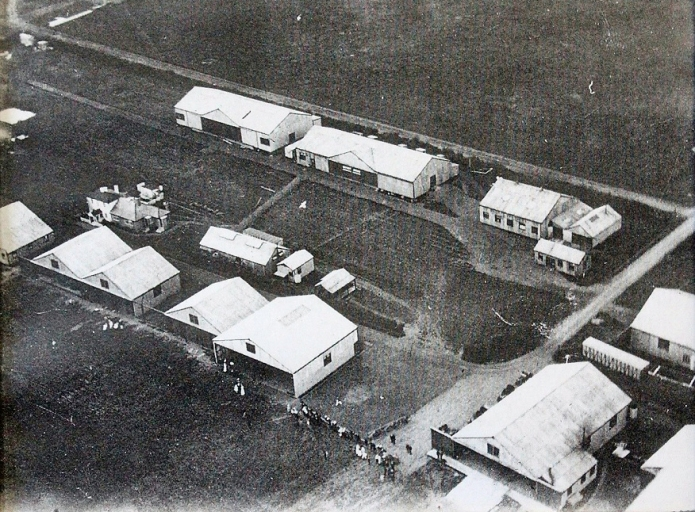 StonePitts Farm sits surrounded by the Shorts sheds and hangers where Shorts built their aircraft and members of the Aero Club stored their craft