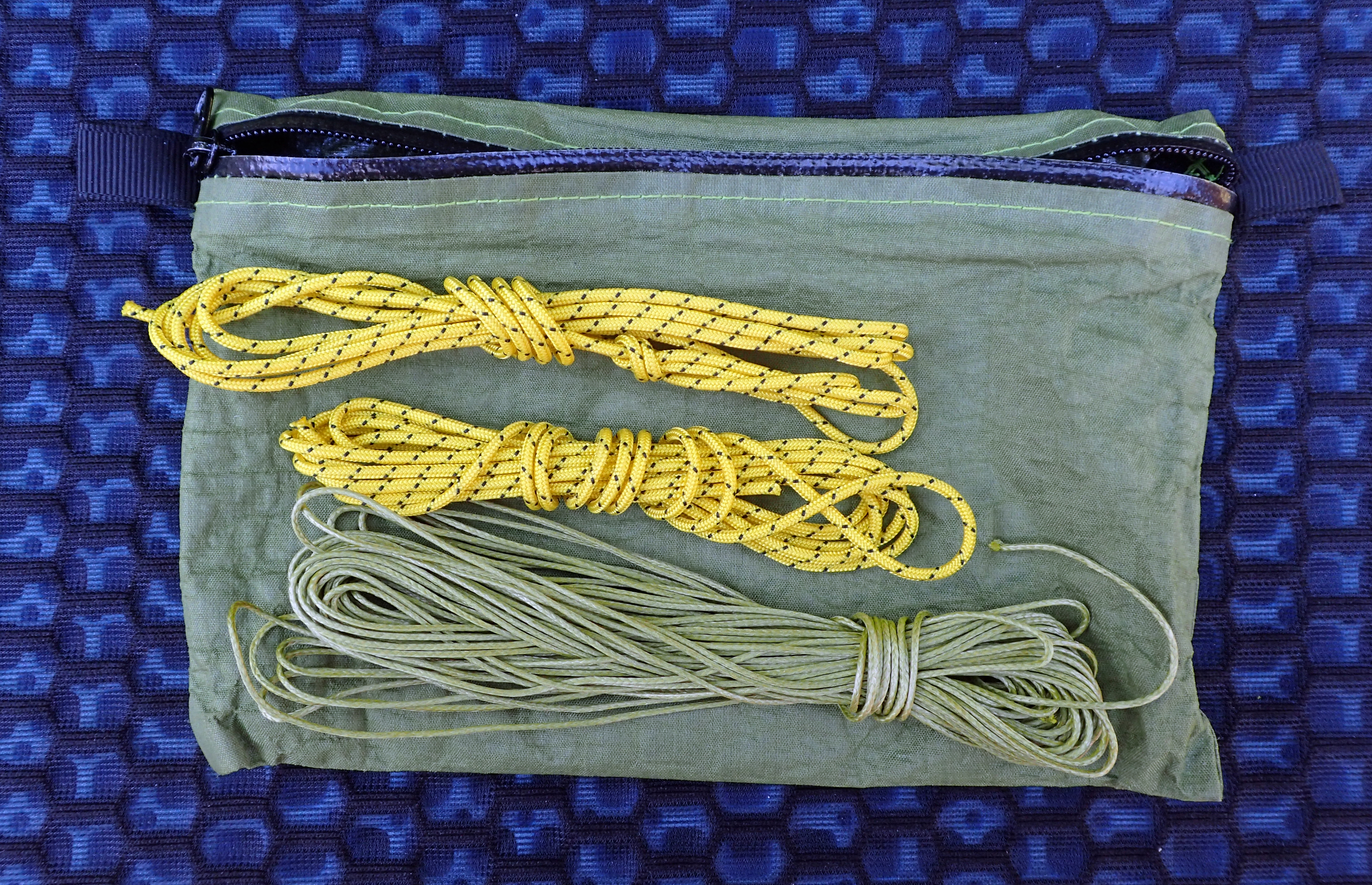 Quilt cords and line