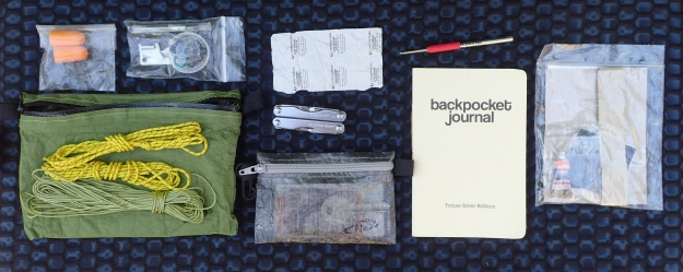 Ditty bag contents in 2020