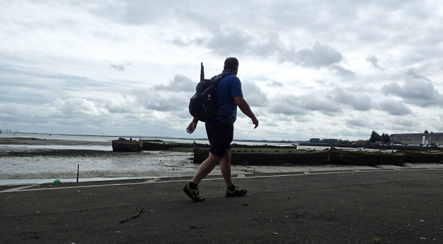 Saxon Shore Way- Medway section