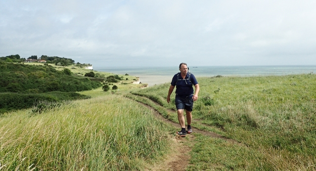 Gradual and undemanding climbing on to cliffs at St Margarets