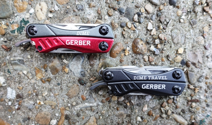 Two good looking keychain multi-tools from Gerber. One is useful, the other less so