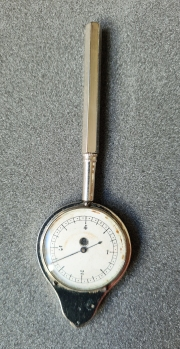 Self-Registing Rotameter is 4 5/8 inches long (117mm)
