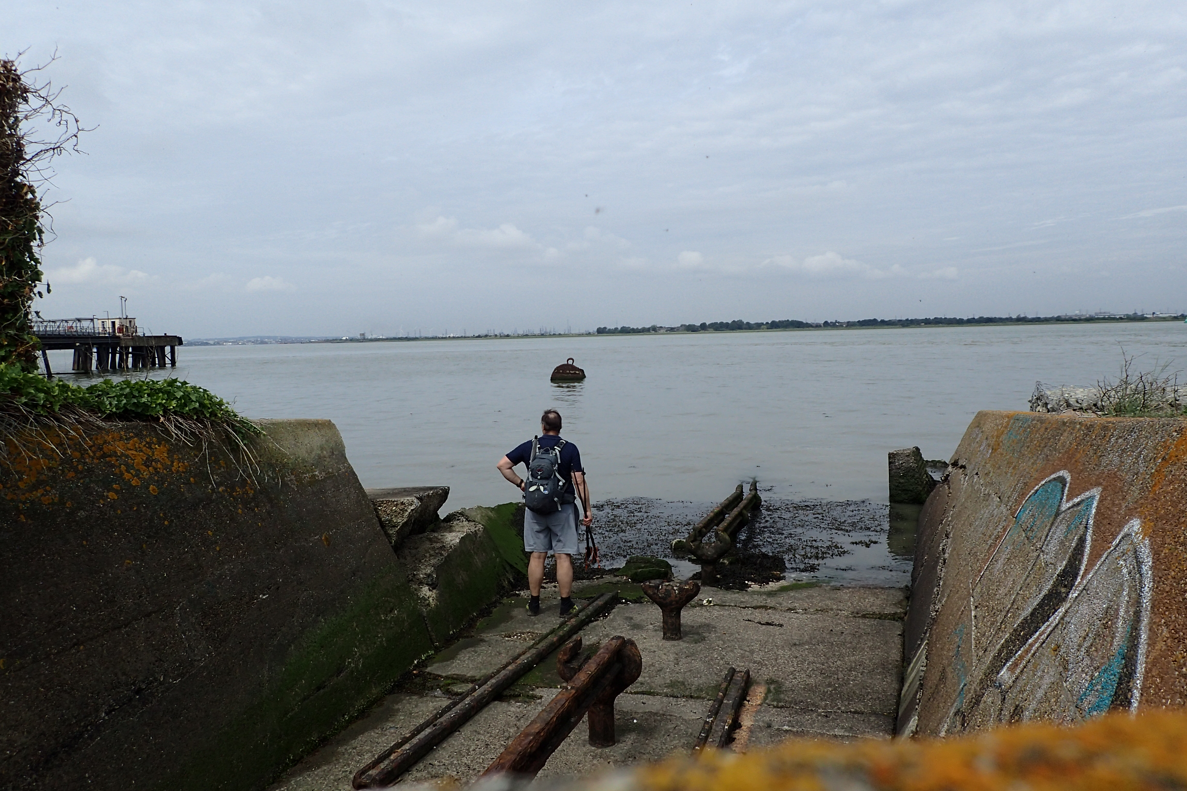Exploring the remains of a launch site for the Brennan Torpedo