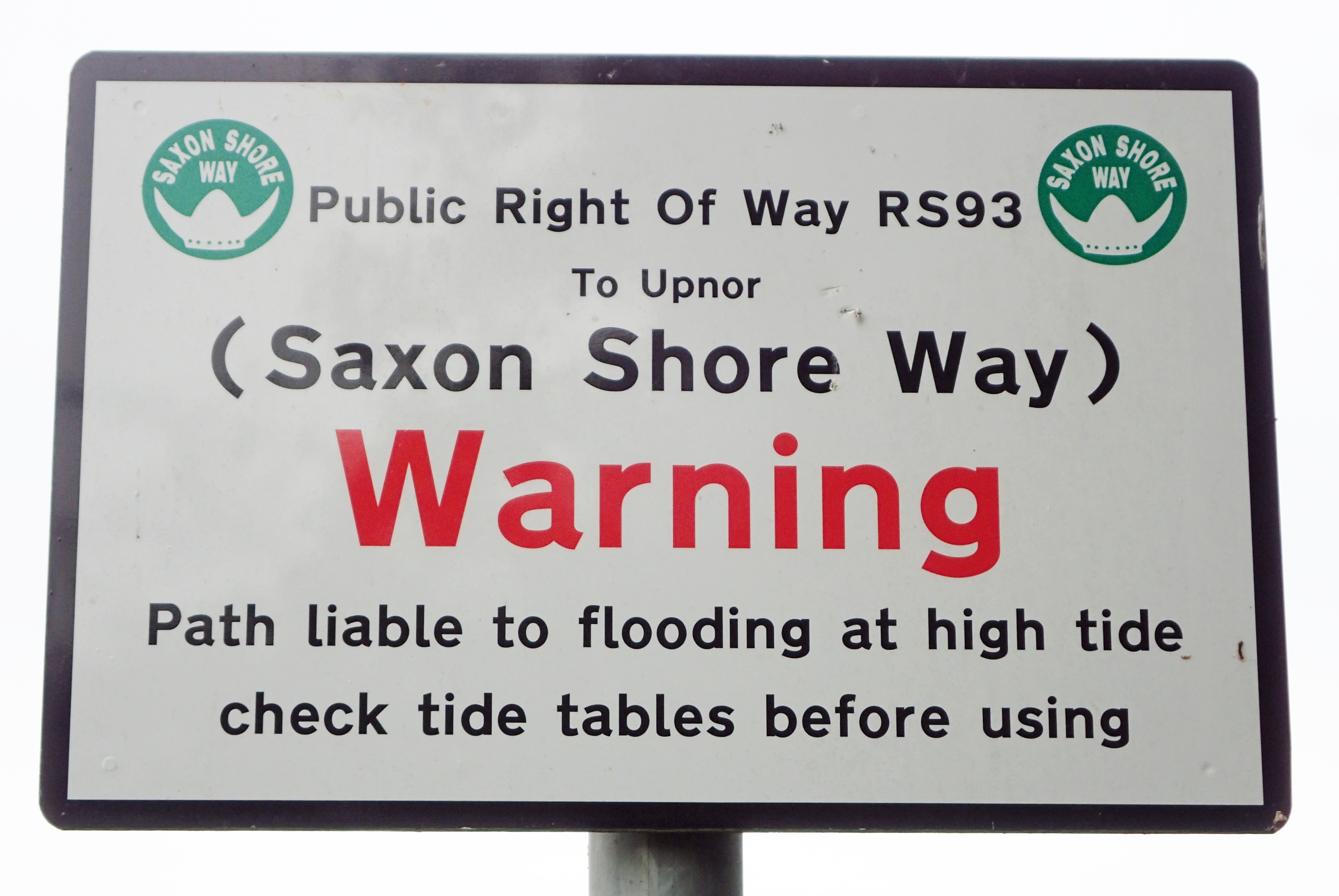 Saxon Shore Way is well sign posted for most of its length