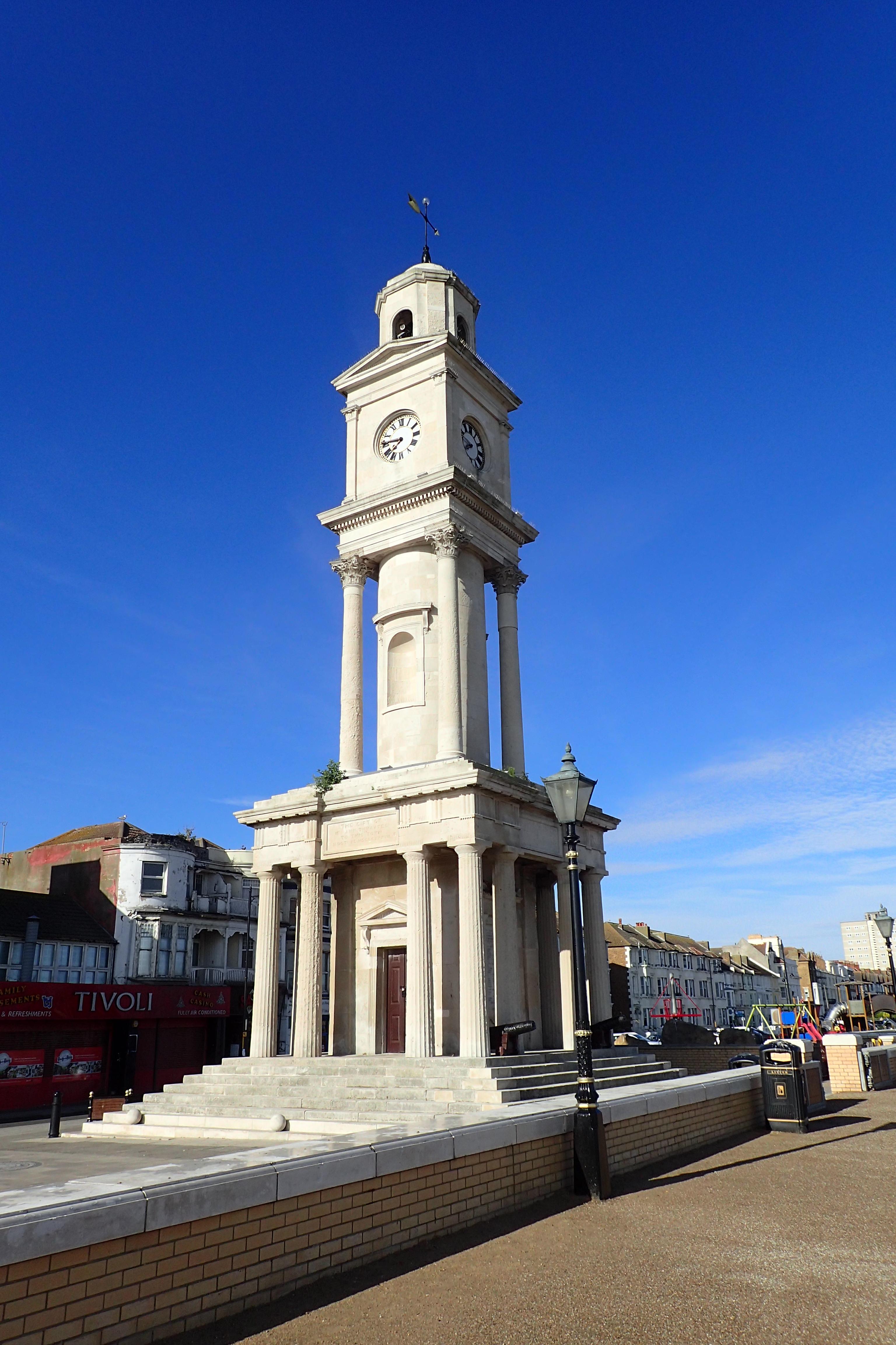 Clock Tower in Herne Bay