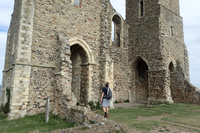 Exploring Reculver Towers