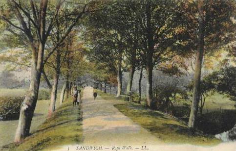 Sandwich Rope Walk, 1915