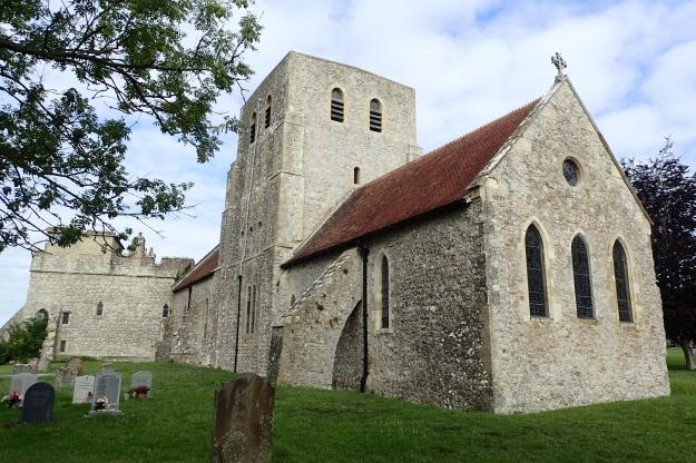 12th century St Stephens Church, Lympne