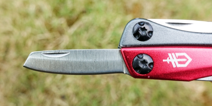 35mm long Spey point blade on Gerber Dime