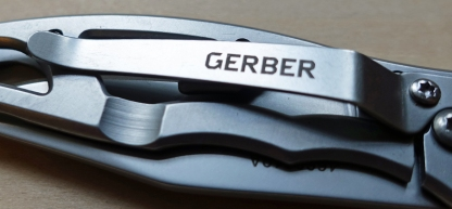 Gerber Paraframe Mini single blade knife