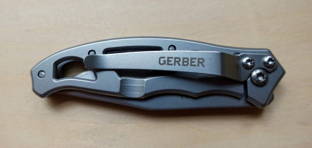 Pocket clip on Gerber Paraframe Mini is the only true feature other than the blade