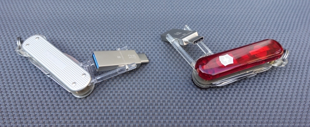 Victorinox Jetsetter@work Alox and Midnite Manager@work- two fantastic tools but of limited use when backpacking