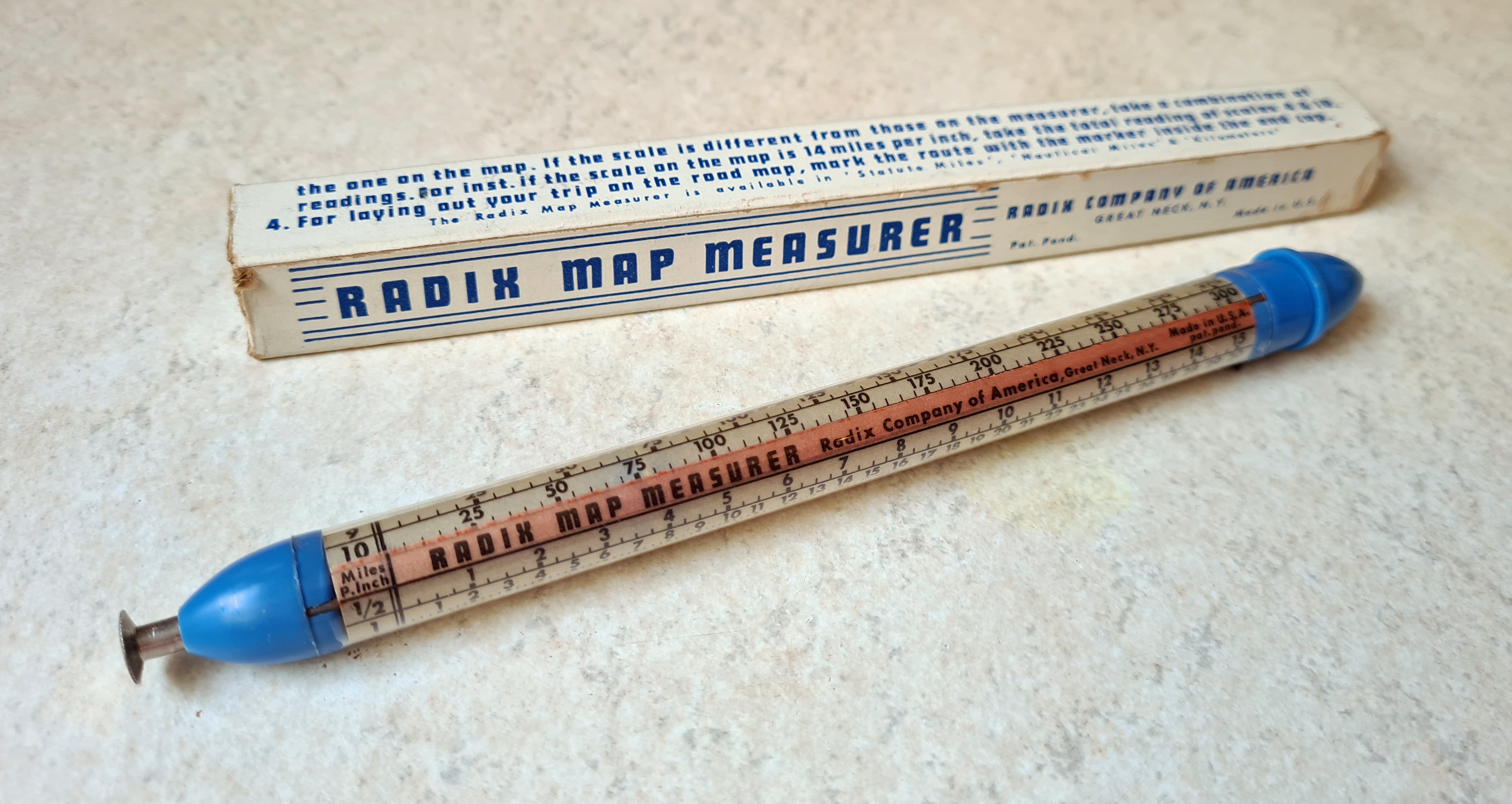 Radix Map Measurer and early packaging