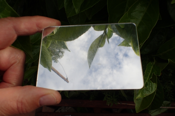 Large acrylic mirror