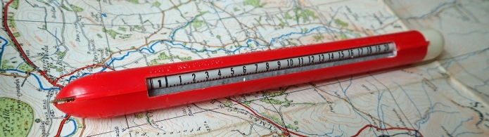 Mile-O-Graph map measurer