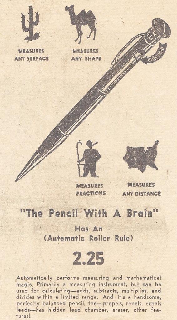 Contemporary newspaper advertisement