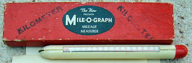 Kilometer version of Mile-O-Graph