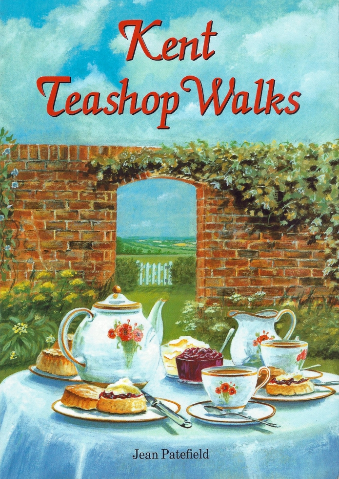 Kent Teashop Walks- just one of a plethora of 'themed walk publications. This guide offers routes between 3 and 8 miles in length, each walk taking in a teashop. 2nd edition published by Countryside Books, 2004