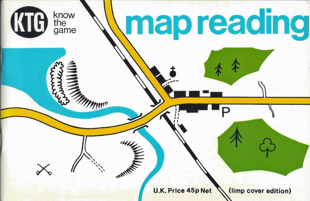 Know the Game- Map Reading. A change in logo for the more colourful 1976 edition