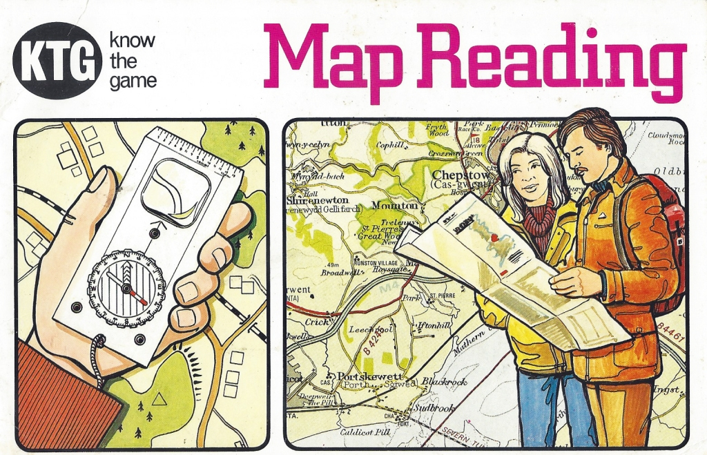Know the Game- Map Reading. A complete change in styling for reprinted edition in 1984