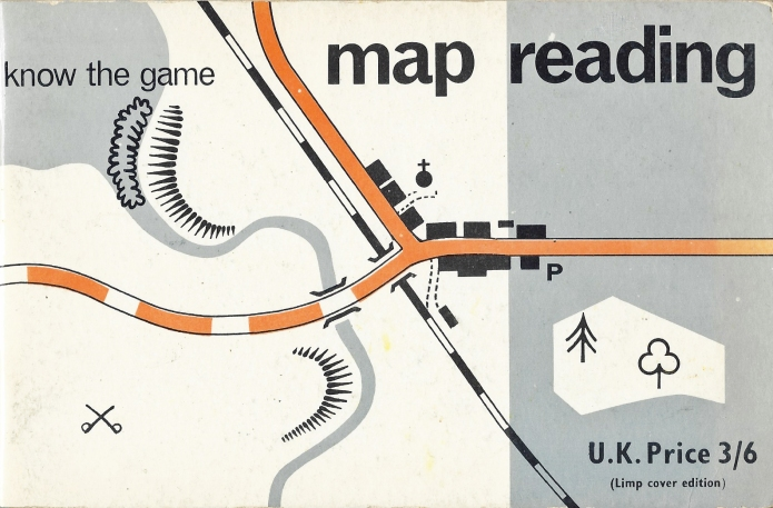 1965 First Edition of Know the Game Map Reading. 26000 copies of this were printed