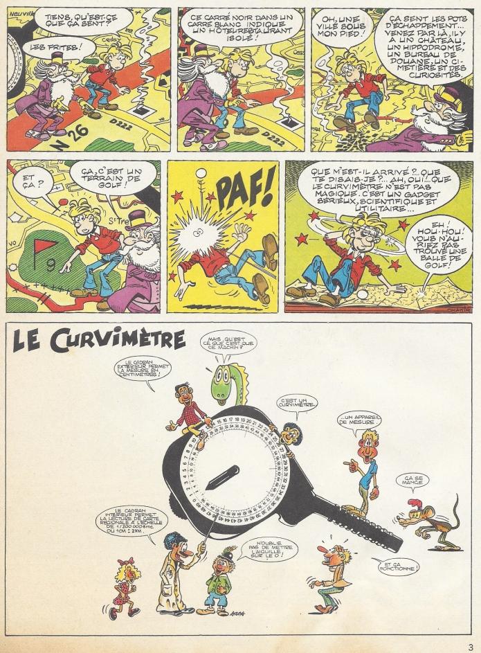 Second page of 'Le Curvimètre'