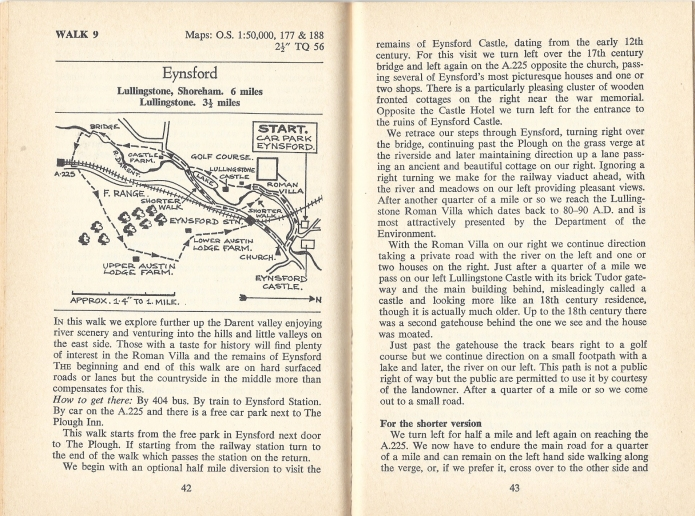 Walk 9 from Walks in the Hills of Kent, Spurbooks Ltd, 1976