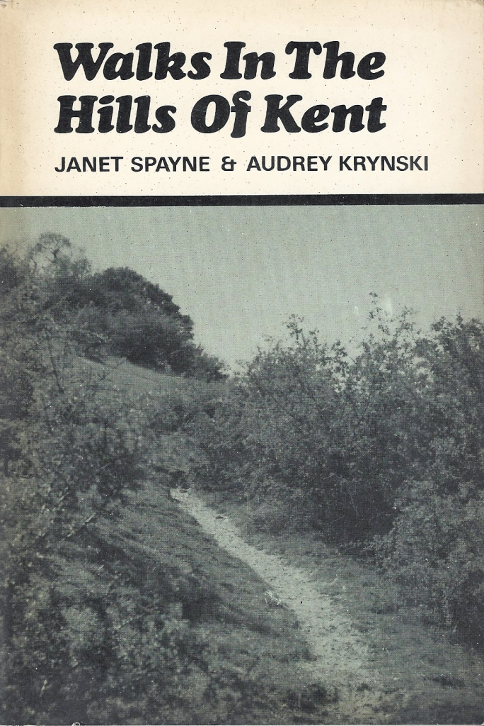 Walks in the Hills of Kent, a Spurbooks Footpath Guide, published in 1976