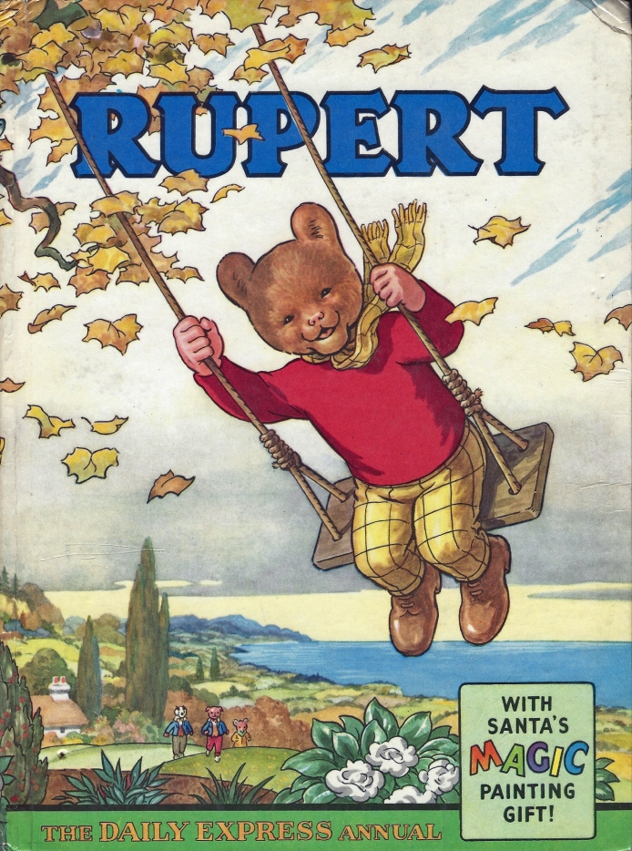 1961 Rupert annual. Illustrated by Bestall