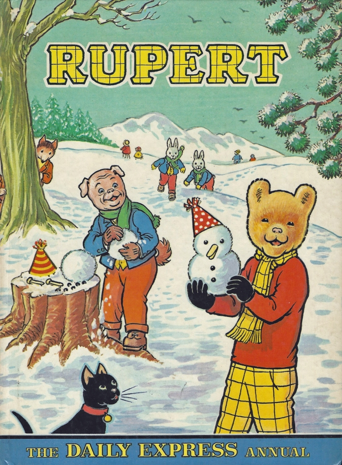 1974 Rupert annual, illustrated by Alex Cubie
