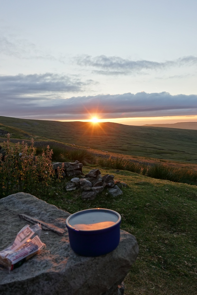 Pint of tea, slab of Tablet and a sunset, that'll do