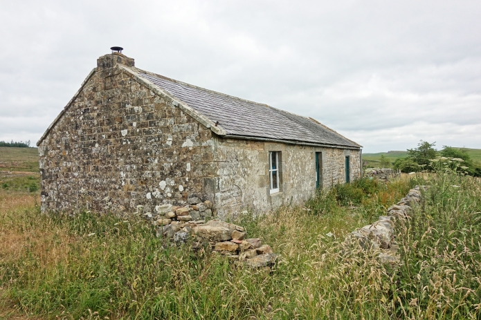 Houghton, in Keilder Forest was the last bothy to be 'hooked' by Stephen Pern on his epic journey