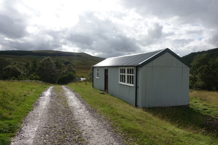 The Schoolhouse lies on the Corriemulzie Estate in the Northern Highlands
