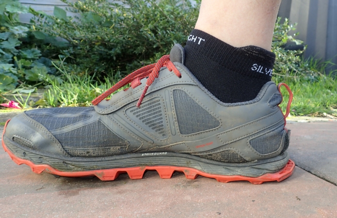 Silverlight Ankle length sock in trailrunner