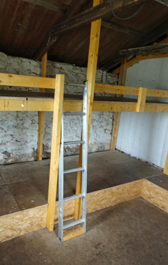 Bunk beds at Strathchailleach