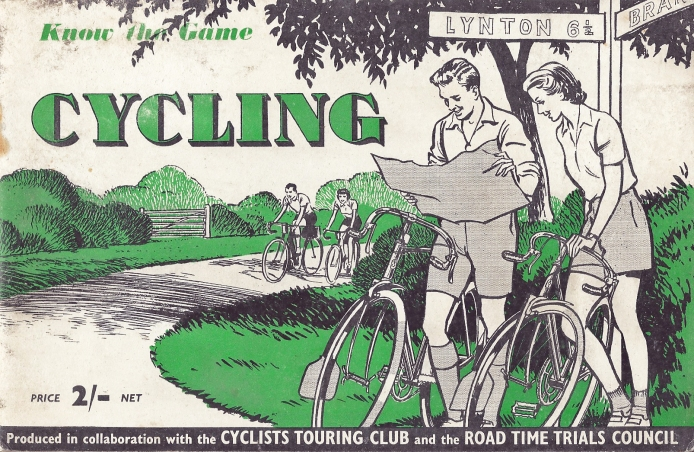 Know the Game Cycling, published by Educational Productions Ltd. in colaboration with Cyclists Touring Club and the Road Time Trials Council, 1952