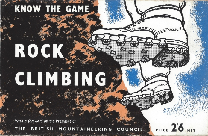 Rock Climbing 1958 Niblick Publishing