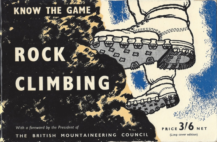 Know the Game- Rock Climbing, 1958. Subtle changes in cover design