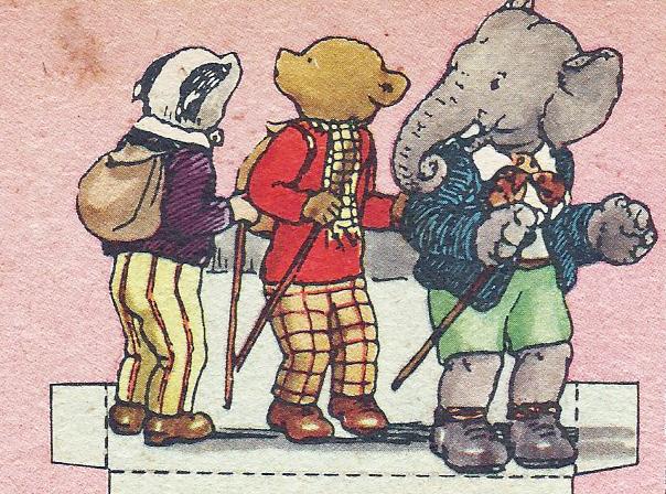 Rupert and friends