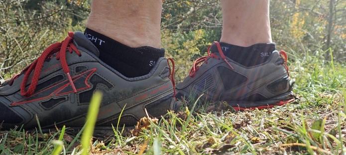 Silverlight Ankle socks