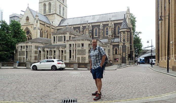 Pilgrims Way- Day one. Southwark Cathedral to Welling . Southwark Cathedral