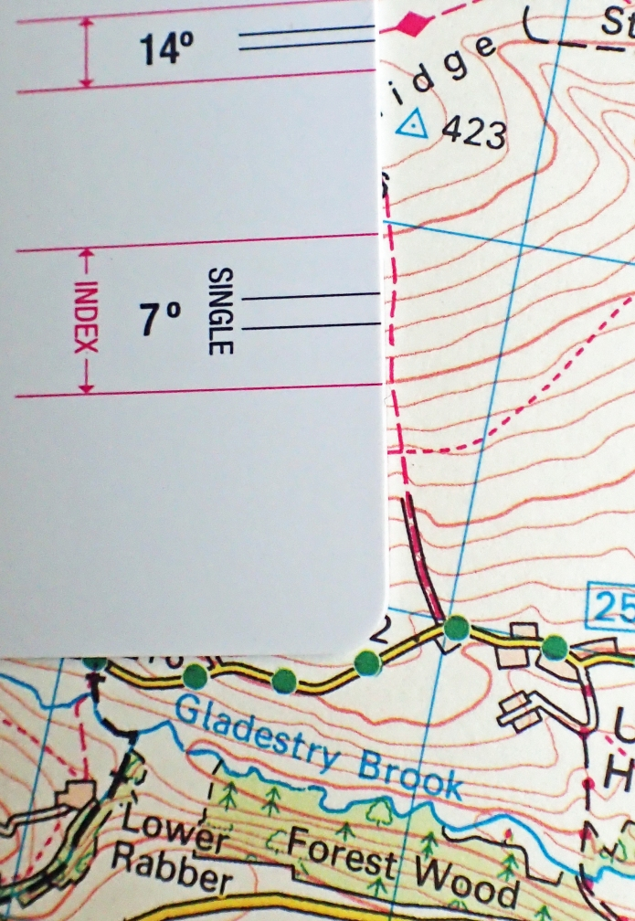 Walking from the minor road up to the Trig Point on Hergest Ridge will entail walking up and down the 7 degree hill