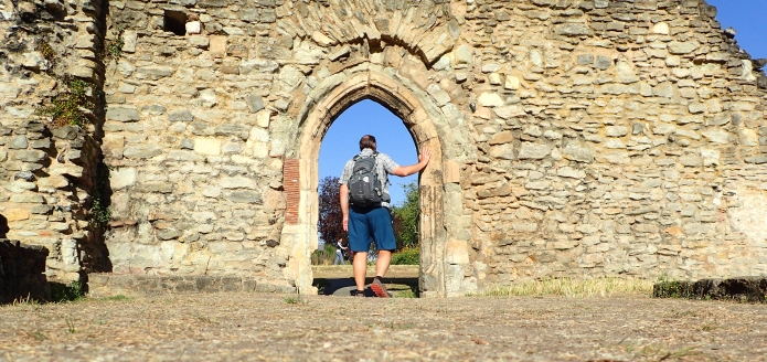 Exploring Lesnes Abbey