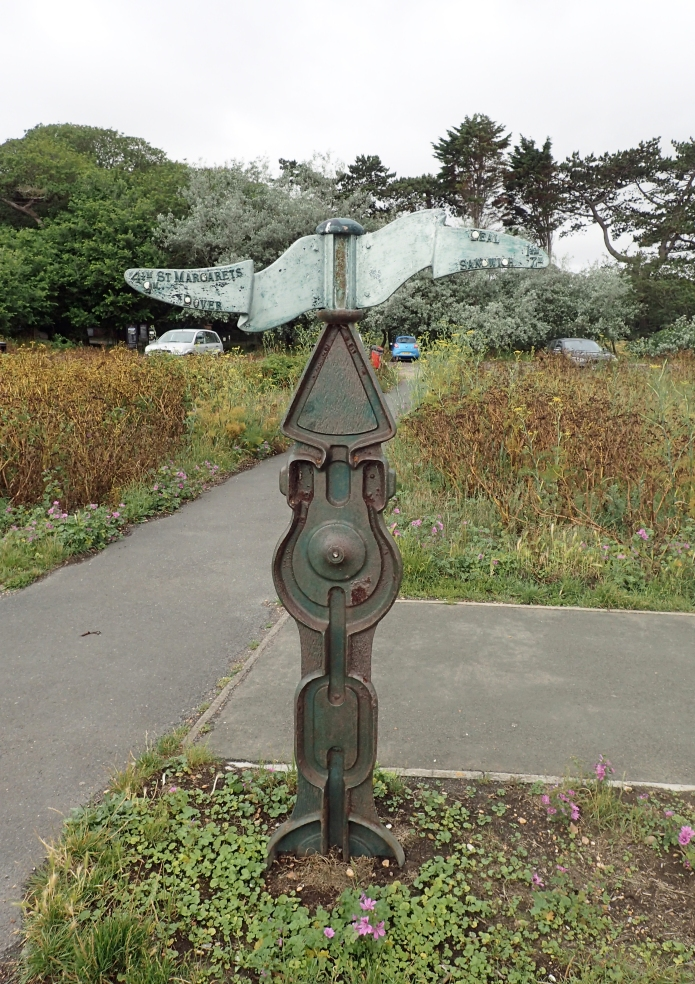 'Rowe' type Millennium Milepost, Dover, Kent